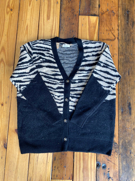 Black Sand Tiger Cardigan
