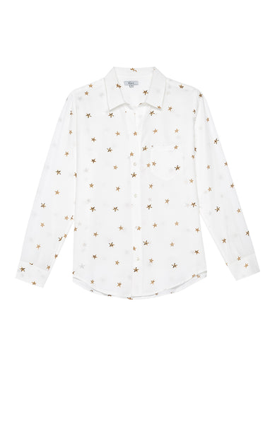 Kate Button Up - Animal Ivory