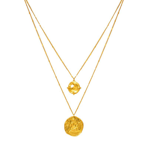 Trier Medallion Necklace