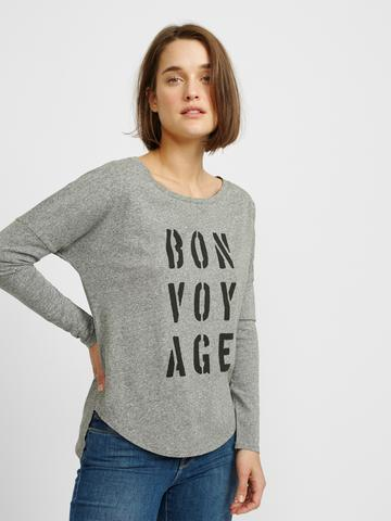 Bon Voyage Tunic - Heather Grey