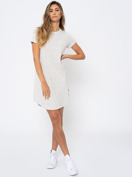 Ash Thermal Dress - Heather