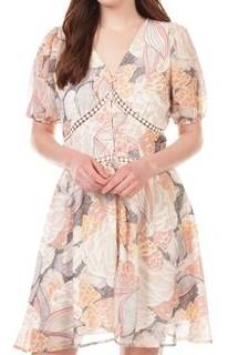 Lotus Pink Woven Dress