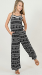 Rhino Pattern Jumpsuit