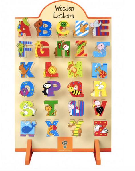 Assorted Alphabet Letters