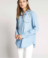 Boyfriend For Life Denim Shirt