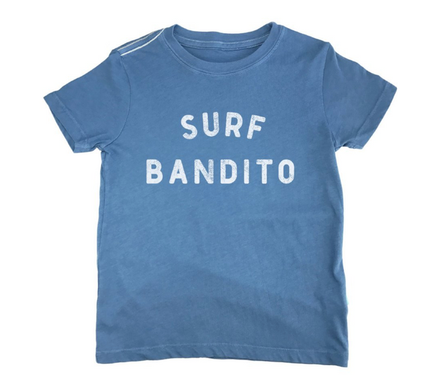 Surf Bandito Vintage Tee - Atlantic Blue