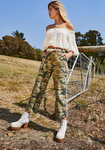 Remy Pant - Camo Printed/Moss