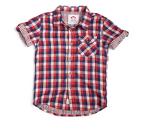 Benson Shirt - Patriot Check