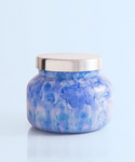 Blue Jean Lilac Watercolor Jar Candle
