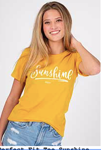 Sunshine Bright Perfect Tee