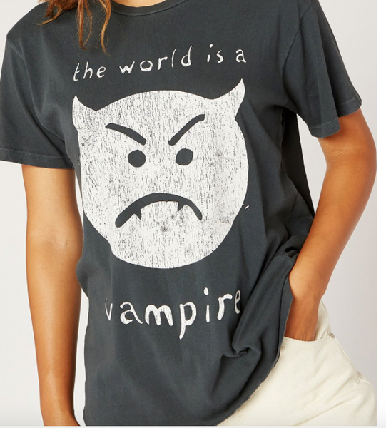 The World is a Vampire Tee