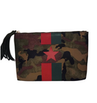 Ahdorned Military Camo Clutch