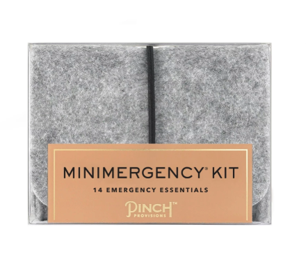 Unisex Minimergency Kit - Grey