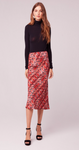 Wild Thing Snake Print Slip Skirt