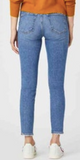 Tess High Waist Jeans - Mid Recycled Blue
