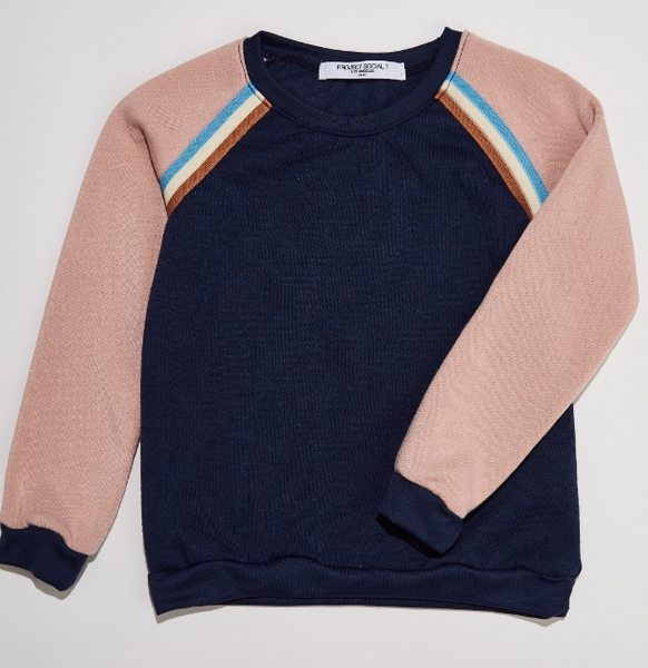 Luv Bug Colorblock Sweatshirt