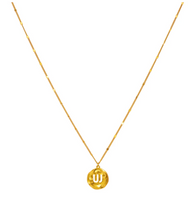 JW Medallion Coin Necklace