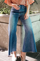 Charlotte Super High Rise Wide Leg Jean - Miami