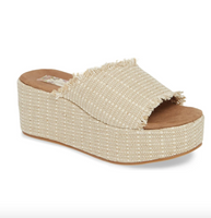 Wren Vegan Jute Wedge