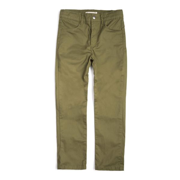 Skinny Twill Pant - Garden Green