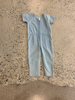 Utility Jumpsuit - Washed Denim