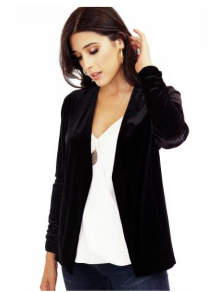 Ponti Me In The Right Direction Lapel Cardigan