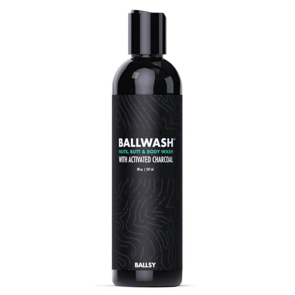 Ballwash - Nuts, Butt & Body Wash with Activated Charcoal