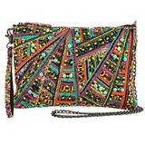 Great Escape Beaded Crossbody Wristlet Handbag