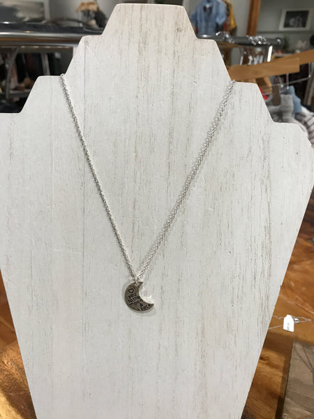 I ♥ You to the Moon & Back Necklace