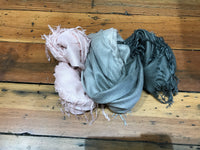 Solid Tissue Scarf - Duo Color