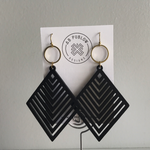 Anna Blair Laser Cut Wooden Earrings