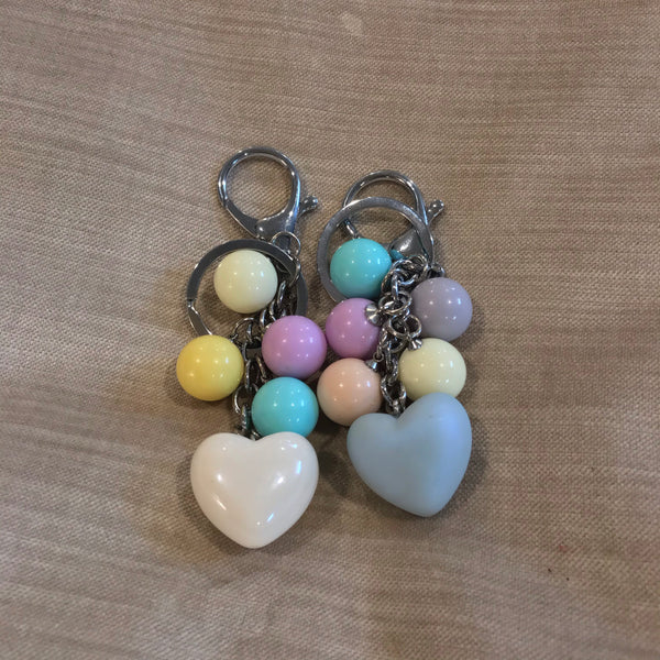 Assorted Heart Key Chain