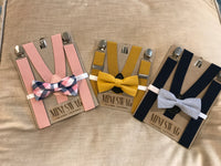 Bow Tie & Suspenders Set
