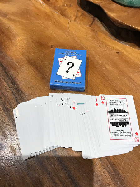 Asheville Playing Cards