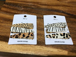 Naya Animal Print Hair Clip Set