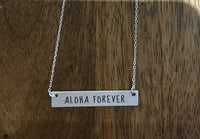 ALOHA FOREVER Necklace - Silver