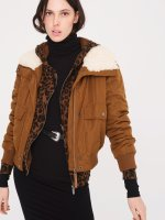Aviator Flight Jacket - Caramel