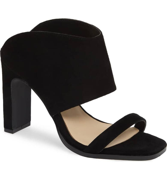 Linx Kid Suede Heel - Black