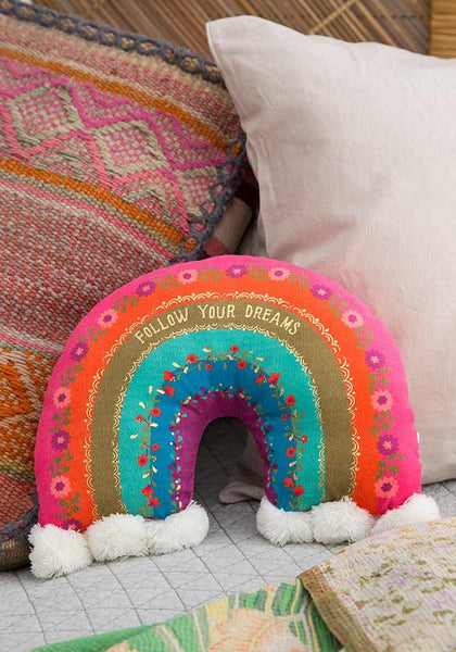 Rainbow Happy Pillow
