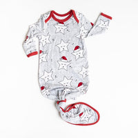 Bamboo Zippy - Sleepy Santa Stars