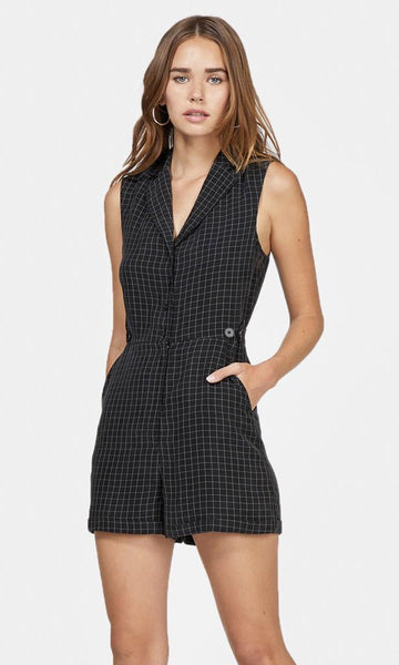 Ingrid Cupro Sleeveless Romper