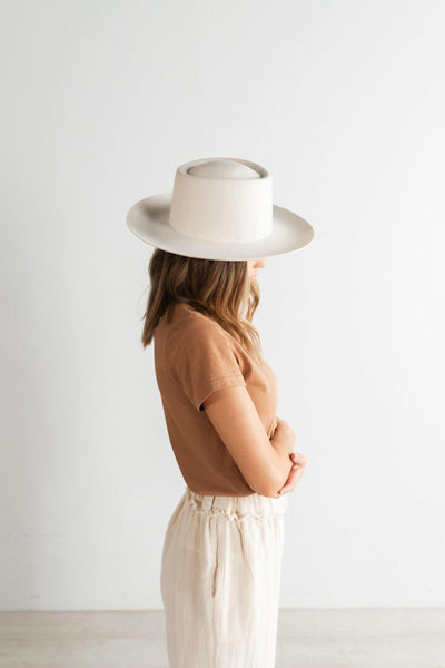 Ty Upturned Brim - Off White