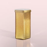 Volcano Gold Glitz Hexagon Jar Candle