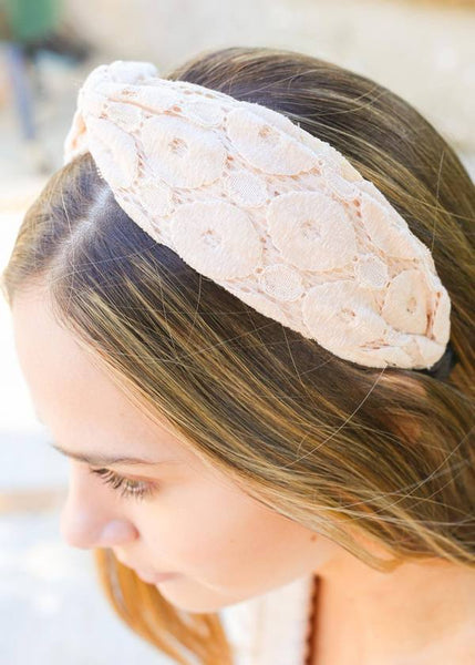 Buchan Fabric Headband Beige