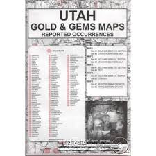 Utah Gem and Gold Maps