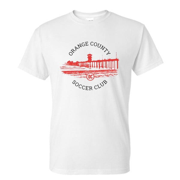 OCSC 2021 - Pier White Short-Sleeve