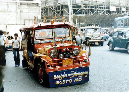 JEEPNEYS IN THE PHILIPPINES PHOTO CREDIT:  FLICKR.COM