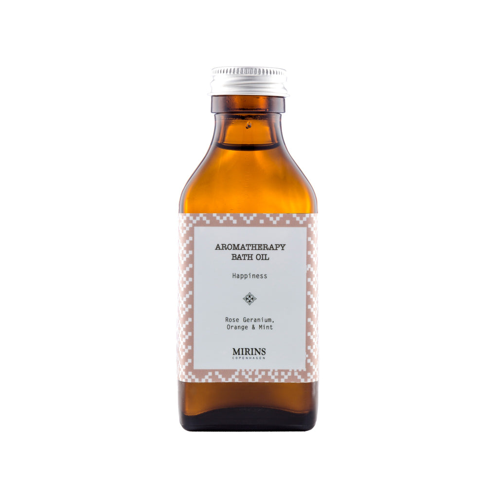 Bath Oil - Happiness - Rose Geranium, Orange & Mint