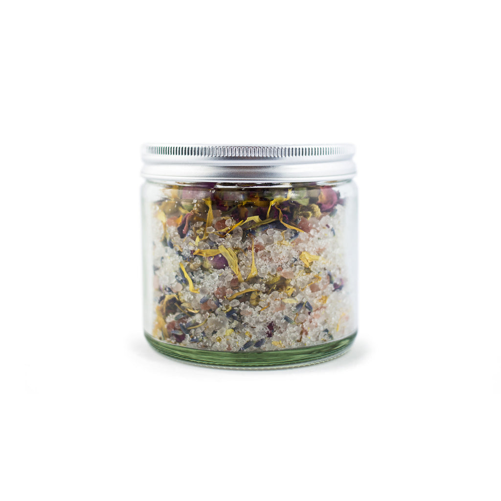 Bath Salt - Roses, Lavender and Calendula