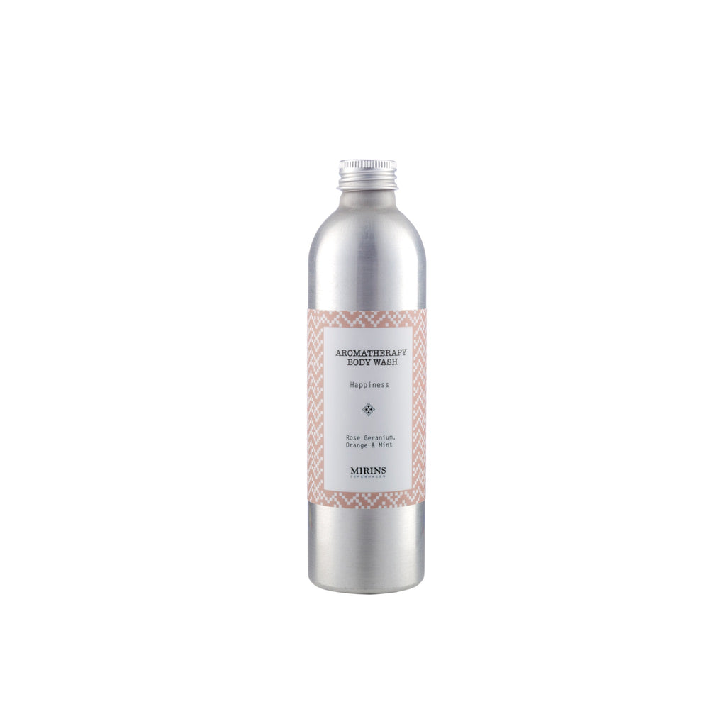 Body Wash - Happiness - Rose Geranium, Orange & Mint